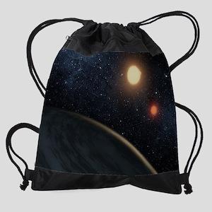 exoplanet Drawstring Bag