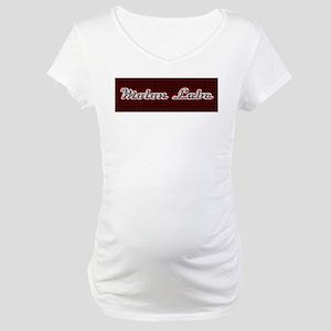 Molon Labe RBW Bumper Maternity T-Shirt