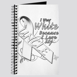 I Wear White Because I Love My Uncle Journal