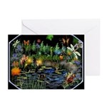 Fey Pond Greeting Cards (Pk of 10)