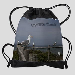 cover-seagull06 Drawstring Bag