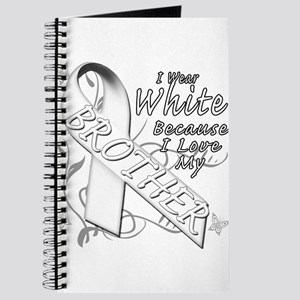 I Wear White Because I Love My Brother Journal