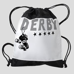 Cafepress derby design Drawstring Bag