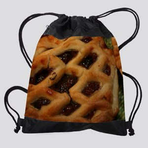 74_H_F_Food_MincePie Drawstring Bag