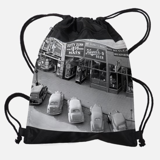 McGuire's Bar, 1940 Drawstring Bag