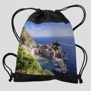 Vernazza copy Drawstring Bag