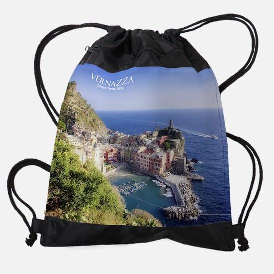 Vernazza copy.jpg Drawstring Bag
