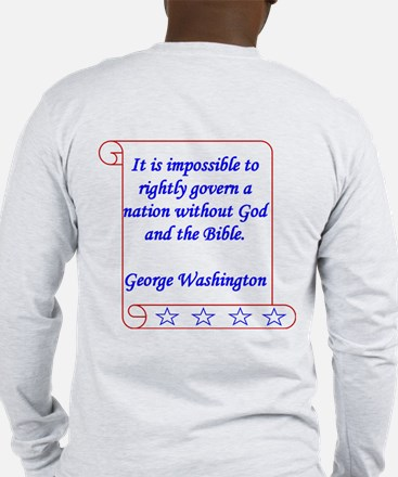 Impossible 2 side Men's Long Sleeve T-Shirt