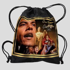 Obama 16x13 Drawstring Bag