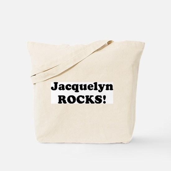 Jacquelyn Rocks! Tote Bag