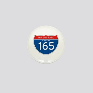 Interstate 165 - AL Mini Button