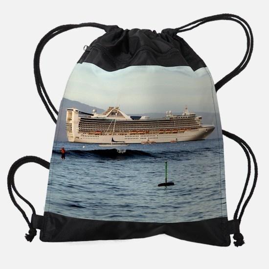 ship20x16.png Drawstring Bag