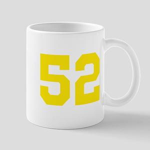 52 YELLOW # FIFTY-TWO Mug
