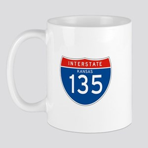 Interstate 135 - KS Mug
