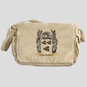 De-Beer Coat of Arms - Family Crest Messenger Bag