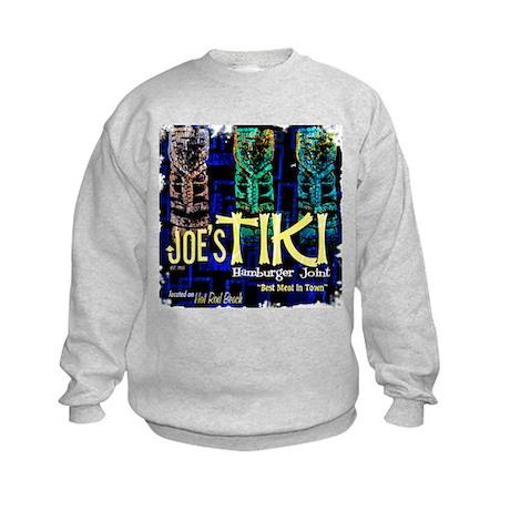 Joe's Tiki Hamburgers Kids Sweatshirt