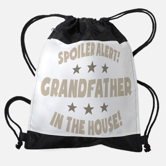 Cute Grampa Drawstring Bag