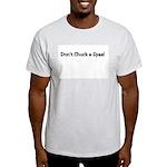 Don't chuck a Spaz Ash Grey T-Shirt