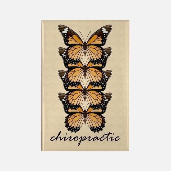 Chiro Butterflies Rectangle Magnet
