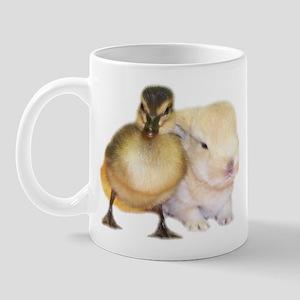 Duck and Bunny Mug