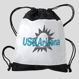 USS Arizonia 2 Drawstring Bag