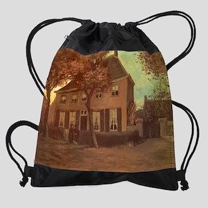 Van Gogh Vicarage at Nuenen Drawstring Bag