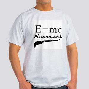 E=MC Hammered Ash Grey T-Shirt