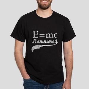 E=MC Hammered Dark T-Shirt