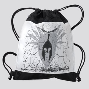 Team Spartan - All Over Design Drawstring Bag