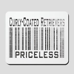 Curly-Coated Retrievers Mousepad