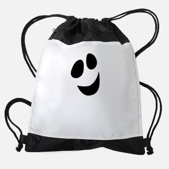 Cute Happy Halloween Ghost Drawstring Bag