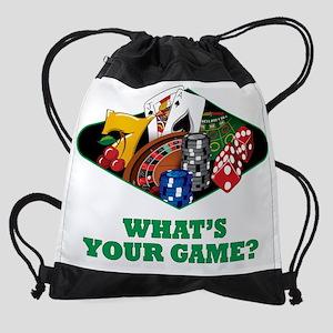 casinoclggame Drawstring Bag