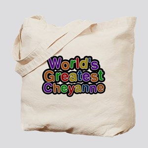 Worlds Greatest Cheyanne Tote Bag