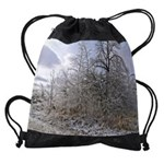 ice trees calendar copy Drawstring Bag