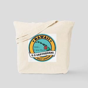 #2 Hawaii Earthquake Tote Bag