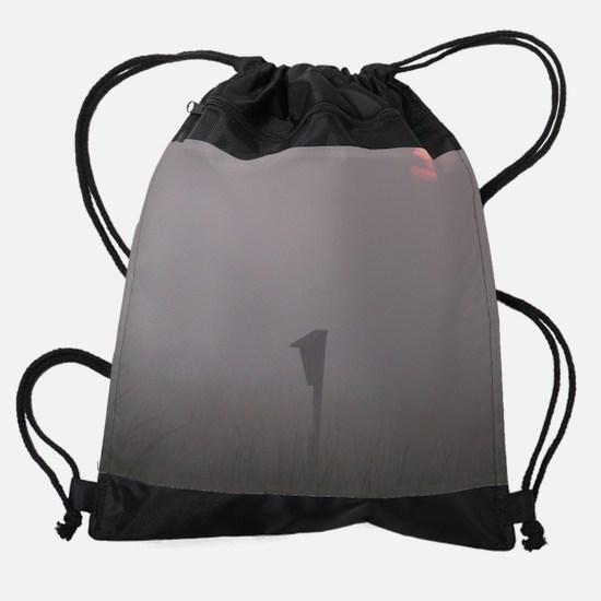 Hazy Sunrise Drawstring Bag