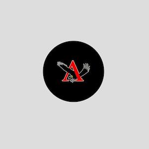 Lambda Alpha Upsilon Logo Mini Button