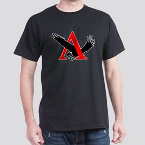 Lambda Alpha Upsilon Logo Dark T-Shirt