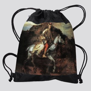 The Polish Rider Drawstring Bag