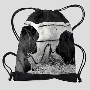 tying the knot Drawstring Bag