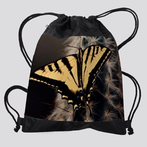 Monarch Cactus mouse pad Drawstring Bag