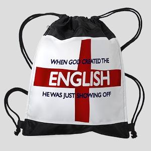 englishgod Drawstring Bag