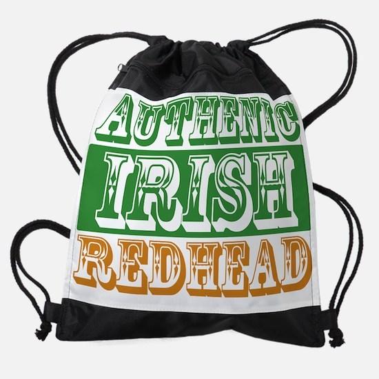 irish redhead.png Drawstring Bag