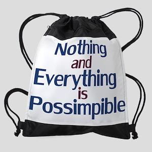 Possimpible Drawstring Bag
