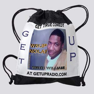 getup comedy shirt Drawstring Bag