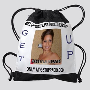 getupradio ahviannah tshirt Drawstring Bag