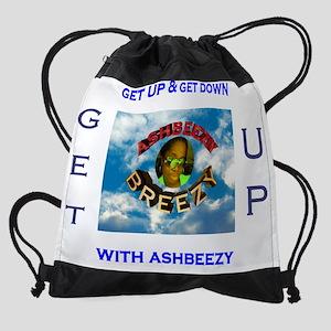 ashbeezy tshirt Drawstring Bag
