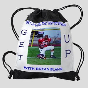 bryan bland tshirt Drawstring Bag