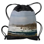 niagara winter cadfalls calendar 23 Drawstring Bag