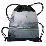 niagara winter cad rapids calendar  Drawstring Bag